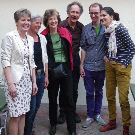 V.l.n.r: Brigit Wyss, Marianne Urben, Marguerite («Miguel») Misteli Schmid, Heinz Flück, Christof Schauwecker (Ersatz), Daniela Gasche (es fehlt Ersatzmitglied Mariette Botta)